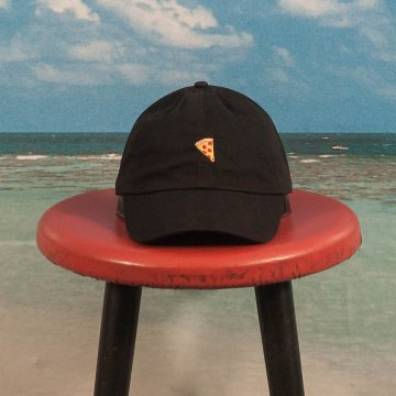 Pizza Skateboards - Emoji Delivery Hat - Black