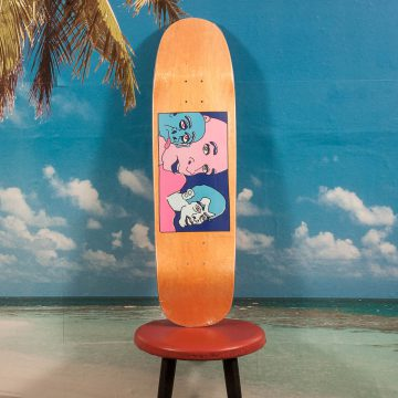 Polar Skate Co. - Team Model Three Faces Kev1 Deck - 8.625