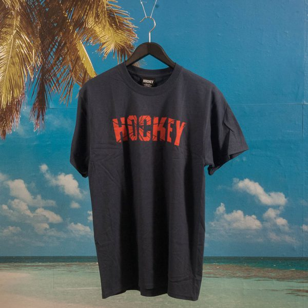 Hockey - Shatter Logo T-Shirt - Navy