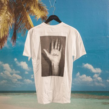 Fucking Awesome - Dice Hand T-Shirt - White