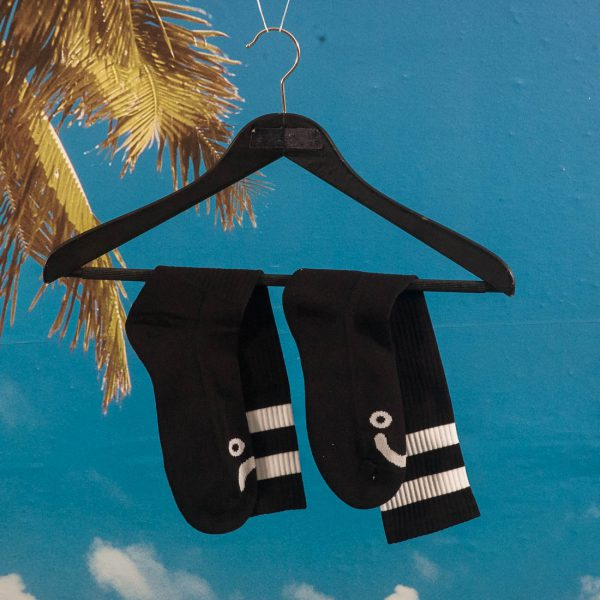 Polar Skate Co. - Happy Sad Classic Socks - Black