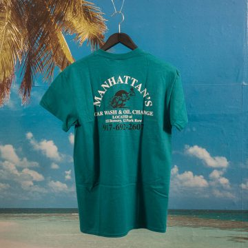 Call Me (917) - Manhattan Car Wash T-Shirt - Teal
