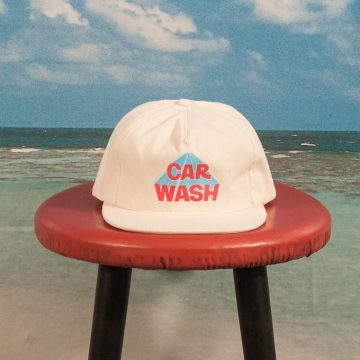 Call Me (917) - Car Wash Hat - Cream
