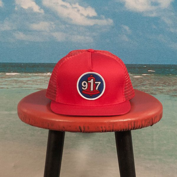 Call Me (917) - Club Hat - Red