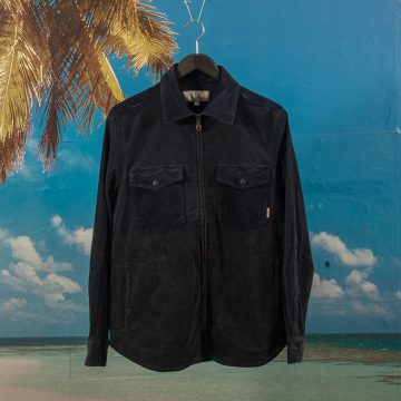 Quasi Skateboards - Corduroy Shirt Jacket - Navy
