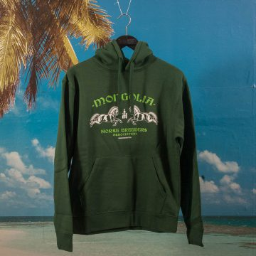 BEINGHUNTED - Mongolia Souvenir Hoodie - Forest Green