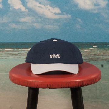 Dime MTL - Mesh Snap-Back Cap - Navy / Light Grey