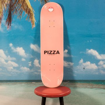 Pizza Skateboards - Stained Glass Deck - 8.5