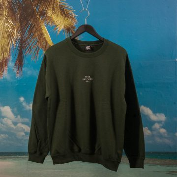 "TPDG Supplies Co. - ""Neue"" Crewneck - Forest Green"