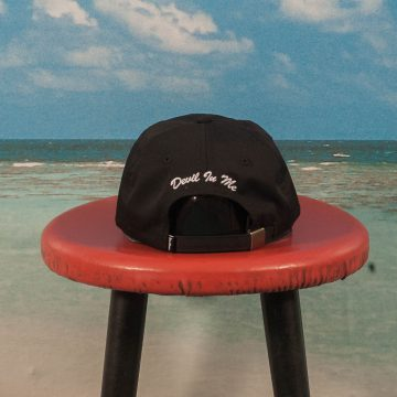 Buttergoods - Devils 6 Panel Cap - Black