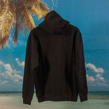 Quartersnacks - Snackman Embroidery Hoodie - Black