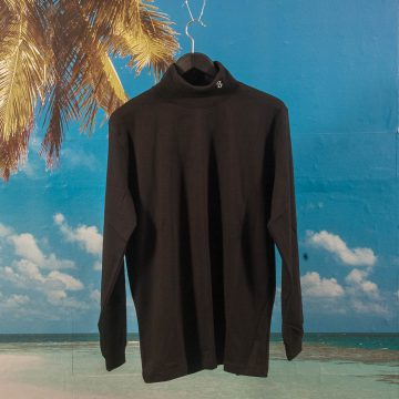 Öctagon - Turtleneck Long Sleeve - Black