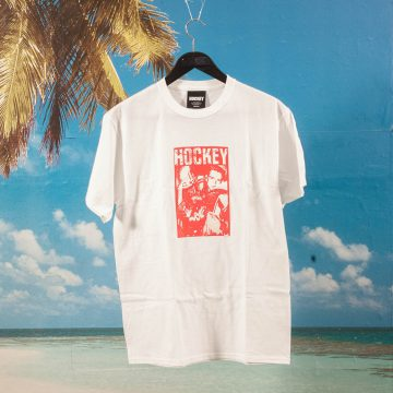 Hockey - Pistol T-Shirt - White