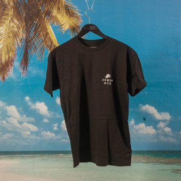 5 Boro NYC - Rose Left Chest T-Shirt - Black