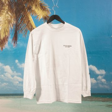 5 Boro NYC - Lover Fighter Long Sleeve - White