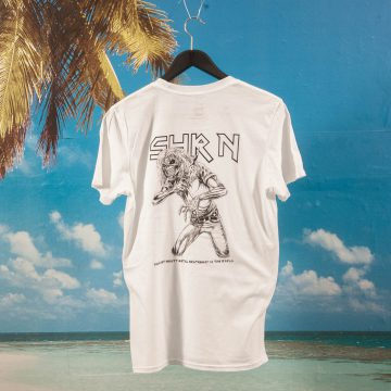 SHRN - IRON SHRN T-Shirt - White