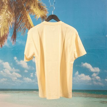 Polar Skate Co. - Happy Sad Garment Dyed T-Shirt - Light Yellow