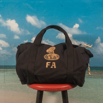Fucking Awesome - Flea The Earth Duffel Bag