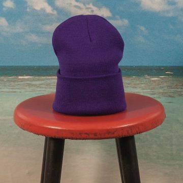 Fucking Awesome - Outline Logo Beanie - Purple