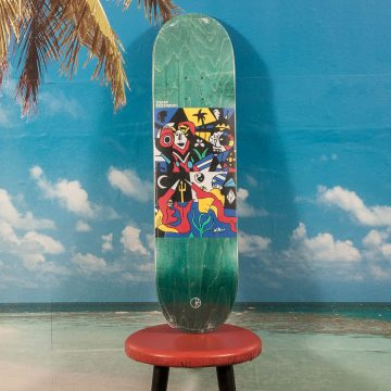 Polar Skate Co. - Oskar Rozenberg - Underwater Kingdom Deck - 8.25
