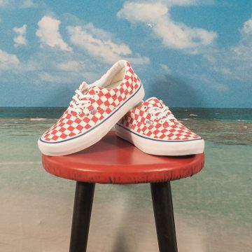 Vans - Era Pro Checkerboard - Rococco Red / Classic White