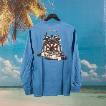 Fucking Awesome X Independent Trucks - Hostage Long Sleeve T-Shirt - Blue