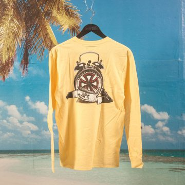 Fucking Awesome X Independent Trucks - Hostage Long Sleeve T-Shirt - Yellow