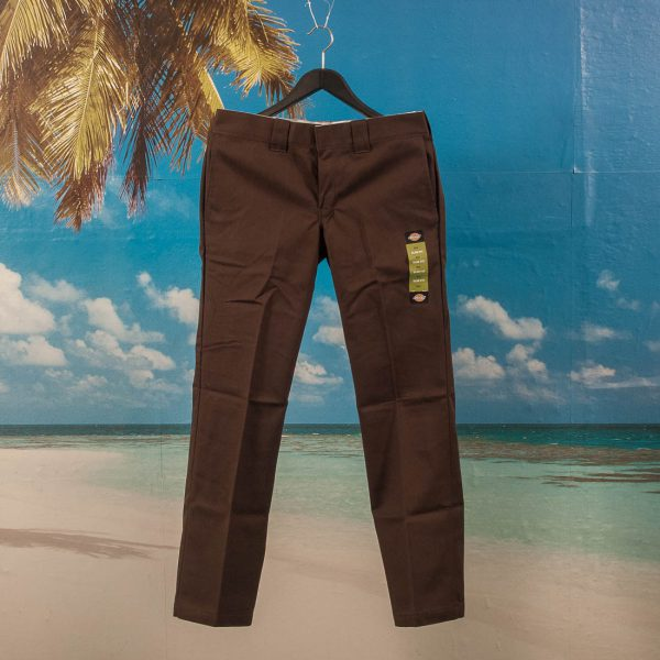 Dickies - 873 Slim Straight - Chino - Chocolate Brown