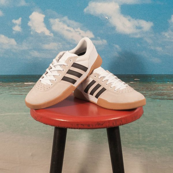 adidas Skateboarding - City Cup - White / Black / Gum