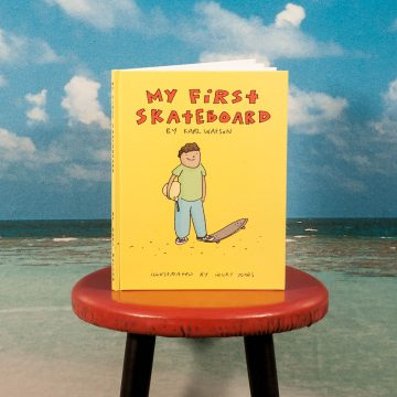 """My First Skateboard"" Book"