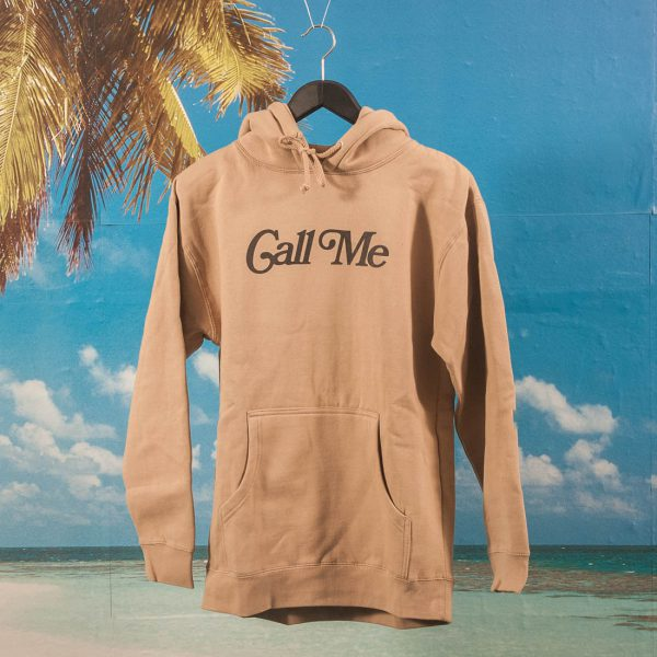 Call Me (917) - Hypnotic Hoodie - Creme