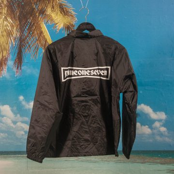 Call Me (917) - 91 Stone Windbreaker - Black
