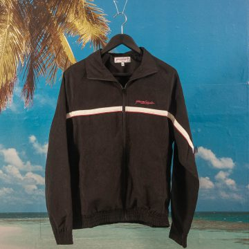 Yardsale - Wave Runner Tracksuit Top - Black