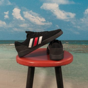 "Adidas Skateboarding - City Cup ""Miles Silvas"" - Black / Scarlet Red / White"