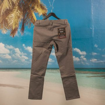 Brixton - Reserve Chino Pant - Heather Grey