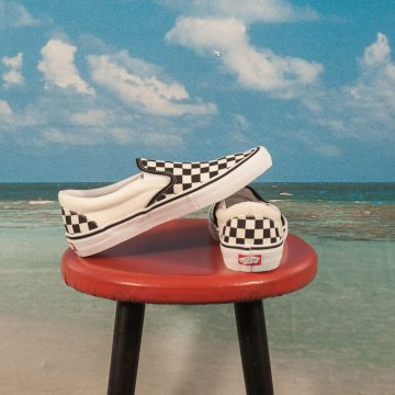 "Vans - Slip On Pro ""Checkerboard"" - Black / White"