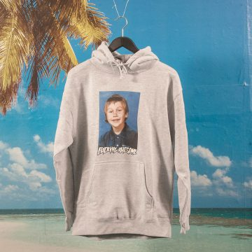 Fucking Awesome - Elijah Class Photo Hoodie - Grey