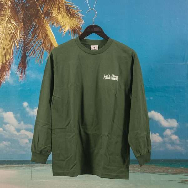 Alltimers - Late Longsleeve T-Shirt - Forest Green
