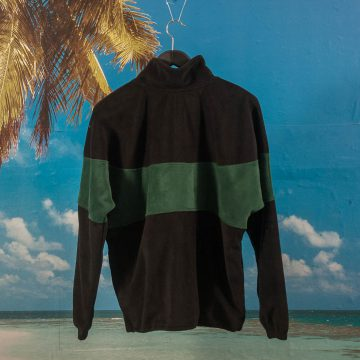 Favorite Skateboards - Half Zip EMR Fleece - Black
