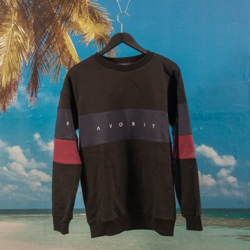 Favorite Skateboards - Crewneck Sweat - Black