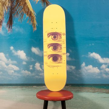 Favorite Skateboards - Tripping Yellow Deck - 8.2