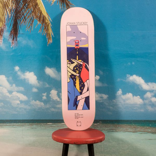 "WKND Skateboards - Lyric Series ""Johan Stuckey"" Deck - 8.5"