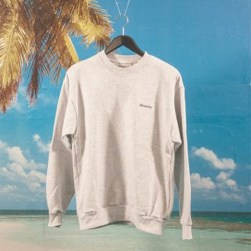 Dimanche Skate Co. - Heavyweight Crewneck - Grey