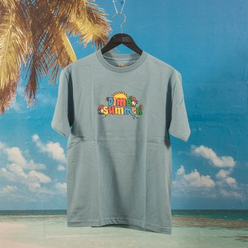 Dime MTL - Summer T-Shirt - Stone Blue