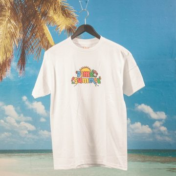 Dime MTL - Summer T-Shirt - White