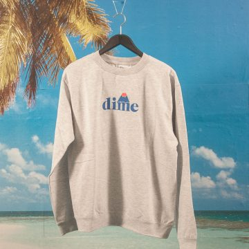 Dime MTL - Hiker Crewneck - Heather Grey