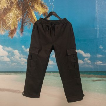 Dime MTL - Cargo Sweatpants - Black
