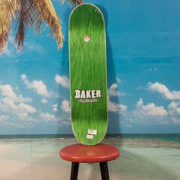 Baker Skateboards - Figgy Brand Name Ink Drops Deck - 8.38