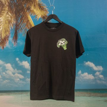 Quartersnacks - Veggie Snackman T-Shirt - Black