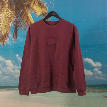 Hockey - Dog Crewneck - Maroon